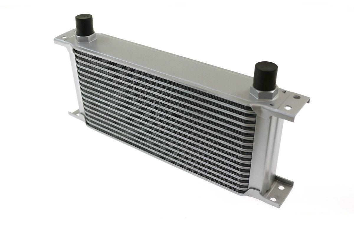 Chłodnica Oleju TurboWorks 16-rzędowa 260x125x50 AN8 Silver - GRUBYGARAGE - Sklep Tuningowy